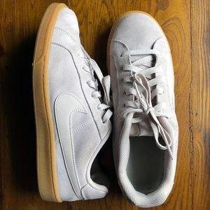 Nike Blazer Palest Pink Suede Sneakers